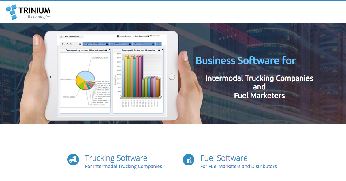 Intermodal Trucking and Drayage Software